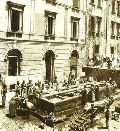 Lavatoio di Piazza Frencese, Napoli Retrò, Facebook