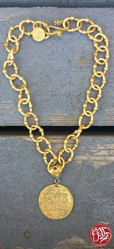 We love our gold gypsy medallions. They are so classic!