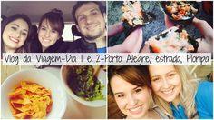 Porto Alegre, Temaki na Estrada e Jogo do Brasil em Floripa - Vlog dia 1... Viagem Florianópolis