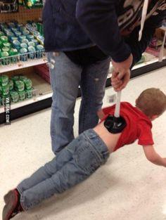 Meanwhile at Wal-Mart....