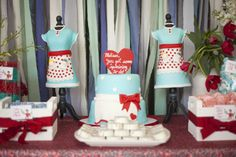 159ec70c2669 A Kitschy-Cute 50s Housewife Bridal Shower