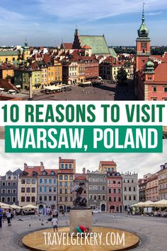 Check out reasons to travel to Warsaw Poland. From diverse things to do in Warsaw such as sightseeing the magnificent Warsaw Old Town to getting stuffed with hearty Polish food. Admire Warsaw's… European Travel Tips, Europe Travel Guide, European Destination, European Vacation, Travel Destinations, Holiday Destinations, Warsaw Old Town, Warsaw Poland, Travel Inspiration