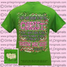 Shirt Color : Electric Green  To order, please visit  http://www.girliegirloriginals.com/index.php?main_page=product_info&cPath=34_17&products_id=1777 Actual color may vary from the color on your screen due to monitor color restrictions