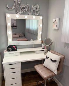 Do It Yourself Makeup Vanity Mirror Winners Lights Malm
