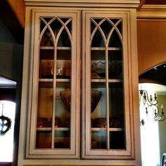 Rectangle Windows With Gothic Inserts