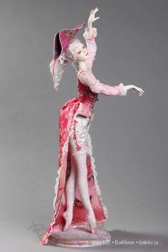 Ooak Dolls, Barbie Dolls, Art Dolls, Pretty Dolls, Beautiful Dolls, Enchanted Doll, Ballerina Doll, Paperclay, Doll Maker