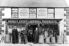 Gregg's Spirit and General Warehouse, Ballyclare. Historical Images, Greggs, Local History, Far Away, Northern Ireland, Old Photos, Warehouse, Spirit, Colours