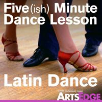 Latin Dance lessons in merengue, salsa, bachata, cha cha cha. Great to get kids moving!