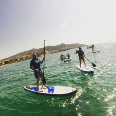 Stand up paddling near Barcelona. Spain, France & Italy (2017) from our Tour Director Dionisio!