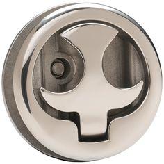 Whitecap Slam Latch - 316 Stainless Steel - Locking - Bird Handle - https://www.boatpartsforless.com/shop/whitecap-slam-latch-316-stainless-steel-locking-bird-handle/