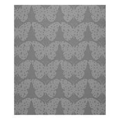 Silver-Dusk*-Butterflies(c)_Med Fleece Blanket