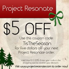 """TisTheSeason"" for an awesome gift! Sale starts now! Use this coupon for yourself and share it with as many friends as you like!"