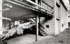 Ле Корбюзье / Le Corbusier. Вилла Le Sextant, Les Mathes, Франция. 1935
