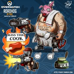 The Overwatch community generally has a deep connection to the game's heroes, and these fan-made skins prove it Overwatch Skin Concepts, Kiss The Cook, Best Fan, Esports, Cool Drawings, Concept Art, Fan Art, Good Things, Fun