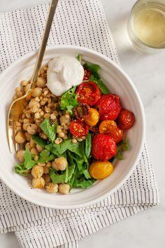 Roasted Cherry Tomato Bowl from Love & Lemons | 10 Best Summer Tomato Recipes
