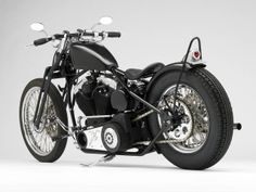 Motorcycles | Left Rear 3/4 Photo of the Darwin Motorcycles Brass Balls Bobbers ...