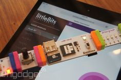 The magnetic, interconnecting circuit boards that make up LittleBits' library of electronic modules make it easy to build all sorts of neat (and noisy)