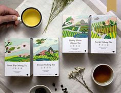 Packaging on Behance Tea Packaging, Food Packaging Design, Packaging Design Inspiration, Brand Packaging, Tee Design, Book Design, Identity, Tea Brands, Graphic Design Posters