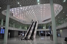 Chinese terminal van Fuksas in gebruik - architectenweb.nl