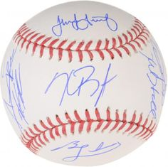 Chicago Cubs 2016 MLB WS Champs Signed WS Logo Baseball With 9 Signatures for sale online Chicago Cubs World Series, Mlb World Series, Baseball Scores, Baseball Signs, Chicago Cubs Memorabilia, Cubs Team, Baseball Helmet, Autographed Baseballs, Basketball