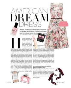 """Dream Darling"" by rachael-aislynn ❤ liked on Polyvore featuring Ted Baker, Madden Girl, Mansur Gavriel, Lauren B. Beauty, Christian Dior, Herbivore and Gucci"
