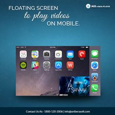 Floating screen to play videos on mobile..........................  #Floatingscreen #music #mp3player #hearttouching #musicplayer #iTunes #iPhonemusicplayer #mxvideoplayer