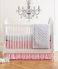 Take a look at this Parisian Pink Classic Bedding Set on zulily today!