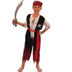 pirat udklædning hjemmelavet