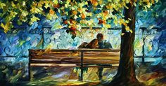 Me and you - by Leonid Afremov