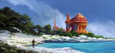Coastal Palace by andreasrocha