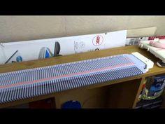Machine Knit an I cord - YouTube