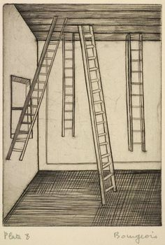 Louise Bourgeois, He Disappeared into Complete Silence, 1947