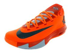 new product 233b3 2cb69 Amazon.com   Nike KD VI (Rucker Park-66 Point Game) Total Orange (11)    Basketball