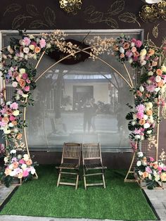 Wedding Gate, Wedding Reception Backdrop, Wedding Entrance, Wedding Stage Decorations, Engagement Decorations, Wedding Centerpieces, Backdrop Frame, Backdrop Design, Backdrop Stand