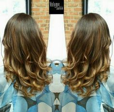 long hairstyles with ombre highlights
