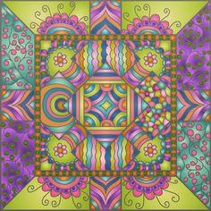 #colortherapyapp #colortherapyclub #patterns
