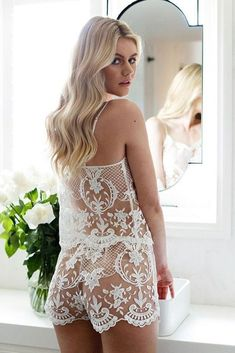 30 Сharming Ideas Bridal Lingerie ❤️ bridal lingerie lace set back view weddingdream ❤️ See more: http://www.weddingforward.com/bridal-lingerie/ #weddingforward #wedding #bride