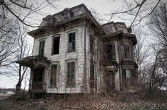 The Milan Mansion( OHIO) long suspected as being haunted. The owner a practicing witch known by locals as the Milan Witch is said to be buried underneath front porch.