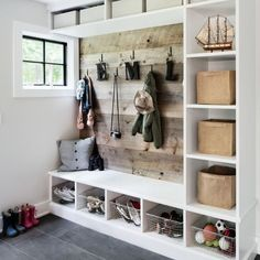 Rustic Farmhouse DIY Mudroom Designs and Mud Rooms Ideas We Love .Rustic Farmhouse DIY Mudroom Designs and Mud Rooms Ideas We Love ., Farmhouse Designs The diy Learn how to build Mudroom Cubbies, Mudroom Benches, Entry Bench, Mudroom Organizer, Porch Bench, Storage Benches, Storage Area, Kids Storage, Storage Room