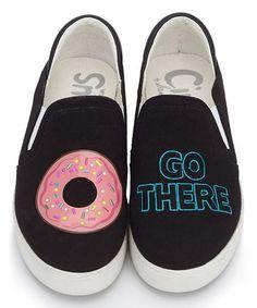 ec484b684e50 Circus by Sam Edelman Black Donut  Go There  Charlie Sneaker