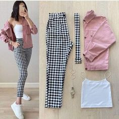 1 2 or Casual Work Outfits, Retro Outfits, Classy Outfits, Stylish Outfits, Cute Outfits, Girls Fashion Clothes, Winter Fashion Outfits, Fall Outfits, Clothes For Women