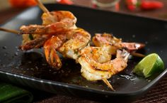 Tequila Lime Grilled Shrimp – This tasty grilled shrimp dish is great anytime, but is especially welcome in this, the year of Mexicos dual anniversaries. September is the bicentennial of Mexicos Independence Day and November 20 is theRead Grilling Recipes, Fish Recipes, Seafood Recipes, Mexican Food Recipes, Great Recipes, Dinner Recipes, Cooking Recipes, Favorite Recipes, Healthy Recipes