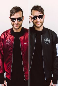 Limited double-sided bomber Black/Red – Don Diablo Webshop