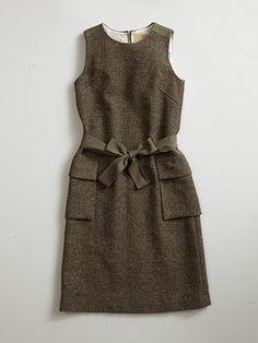 【AW16 WOMAN】ウールドレス(ツイード) / WOOL DRESS(TWEED)