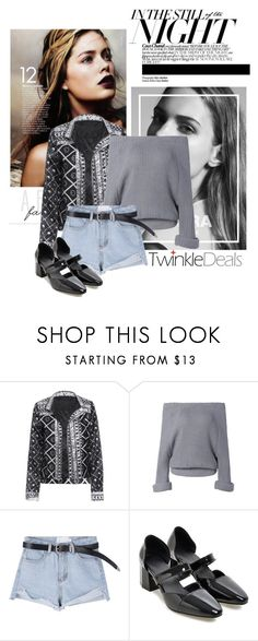 """""""The nights"""" by soygabbie ❤ liked on Polyvore featuring StreetStyle, Spring and blockheels"""
