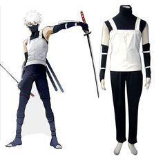 Naruto Kakashi Hatake 1ST Cosplay Costumes