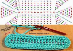 Marvelous Crochet A Shell Stitch Purse Bag Ideas. Wonderful Crochet A Shell Stitch Purse Bag Ideas. Crochet Diy, Crochet Case, Crochet Clutch, Crochet Handbags, Crochet Purses, Love Crochet, Crochet Motif, Crochet Stitches, Chunky Crochet