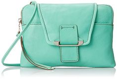 Kooba Handbags Emery Clutch, Jade, One Size >>> Want additional info? Click on the image.