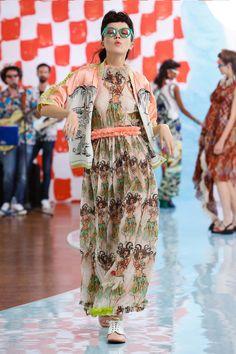 Tsumori Chisato Spring 2018 Ready-to-Wear  Fashion Show Collection