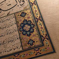 İç pervaz..#tezhib #tezhibsanatı #hat #müzehhibe #islamsanatları #gelenekselsanatlar